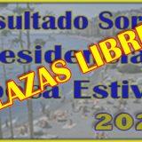 Plazas Libres Residencias Época Estival 2020 en las residencias de la DIAPER